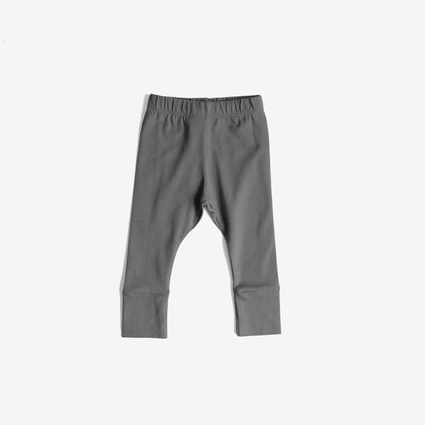 Everyday Organic Jersey Legging - Lead Grey