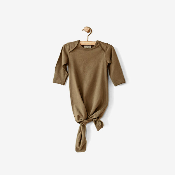 Organic Jersey Infant Sleep Gown - Camel