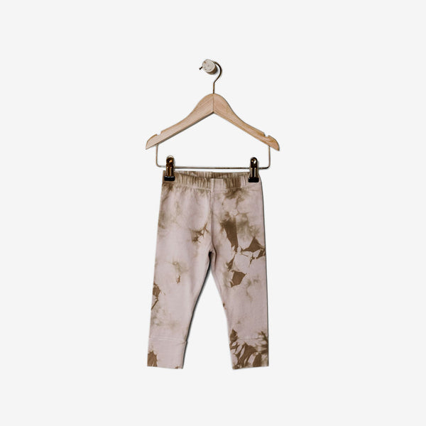 The Everyday Organic Legging - Blush Tie-dye