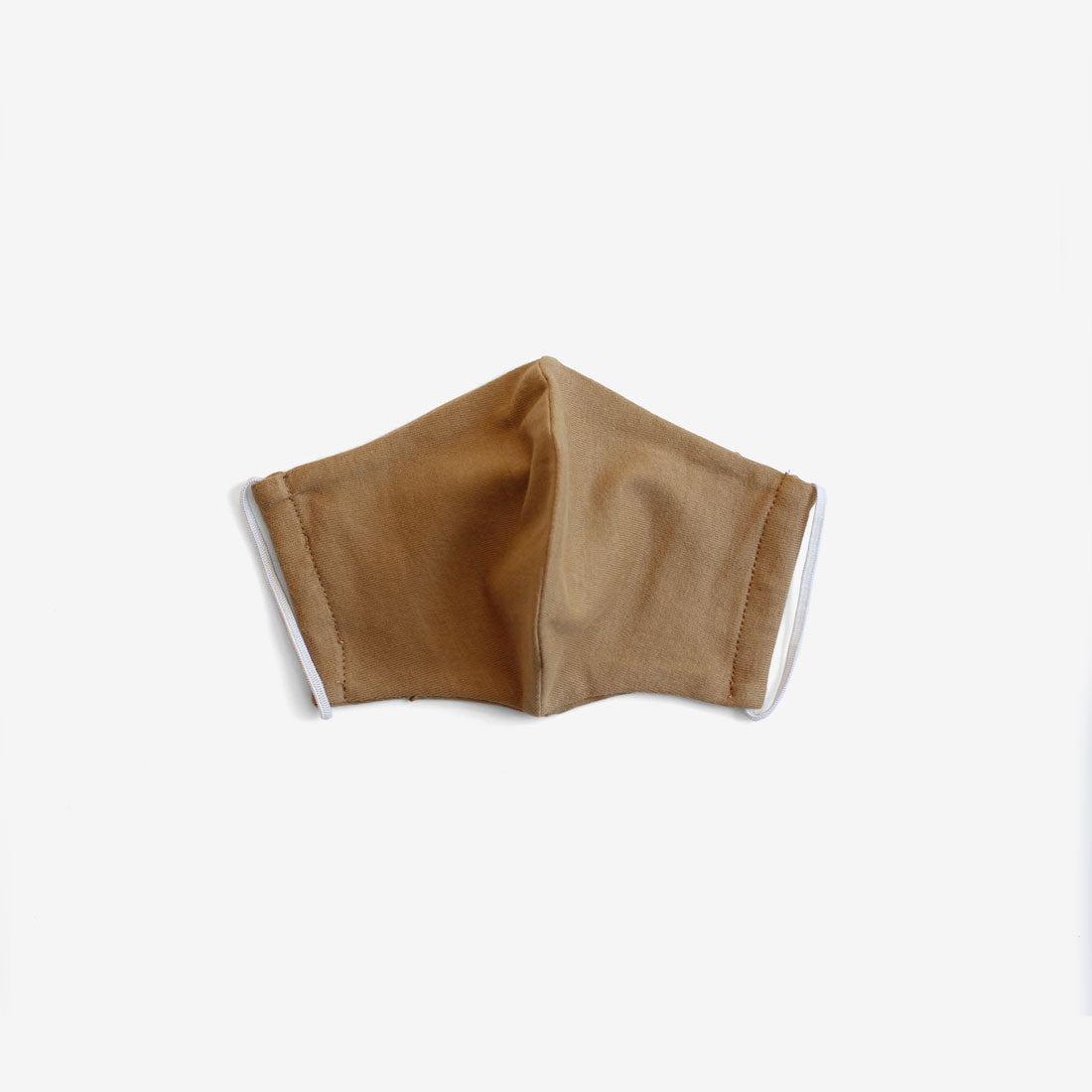 Organic Cotton Face Mask - Camel