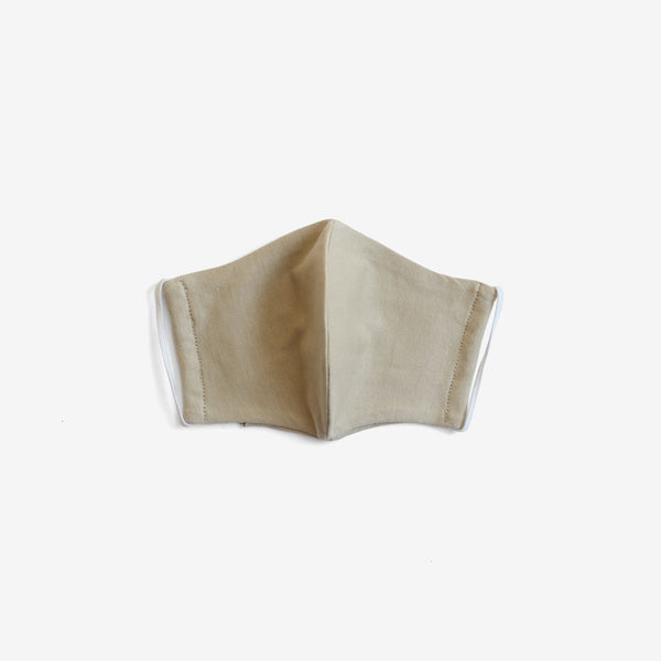 Organic Cotton Face Mask - Ecru