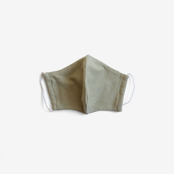 Organic Cotton Face Mask - Sage