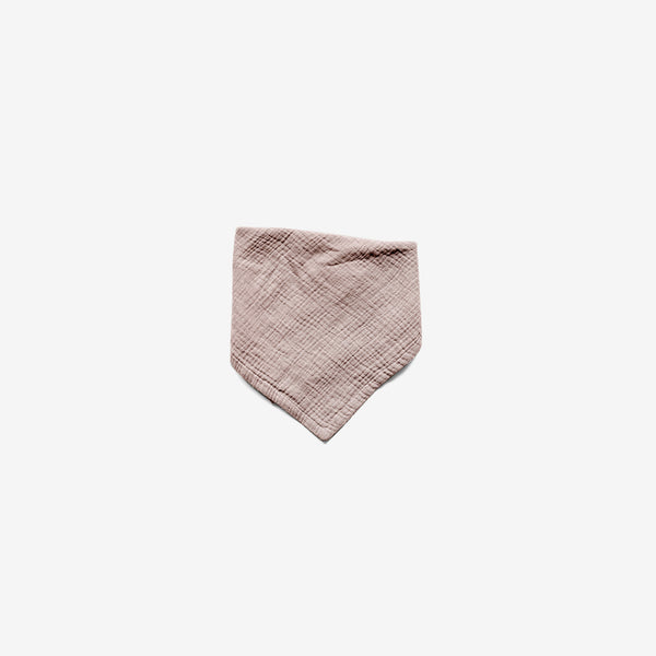 The Muslin Bandanna Scarf - Antique Rose