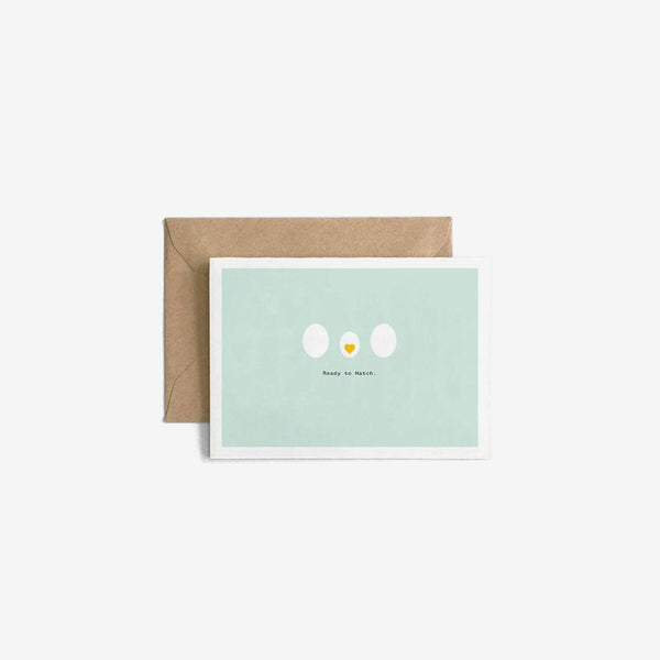 New Baby Gift Card - Ready to Hatch