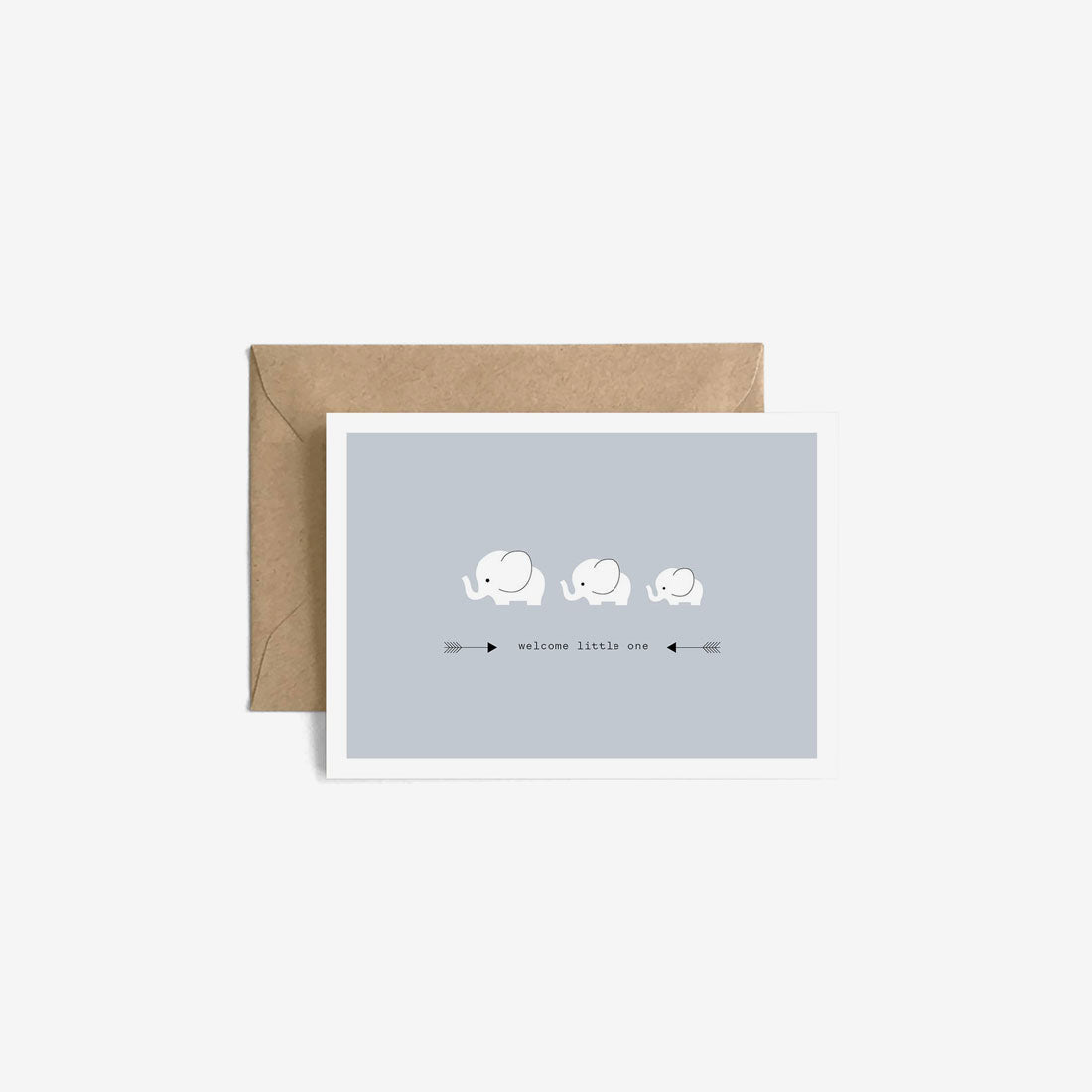 New Baby Gift Card - Welcome Little One