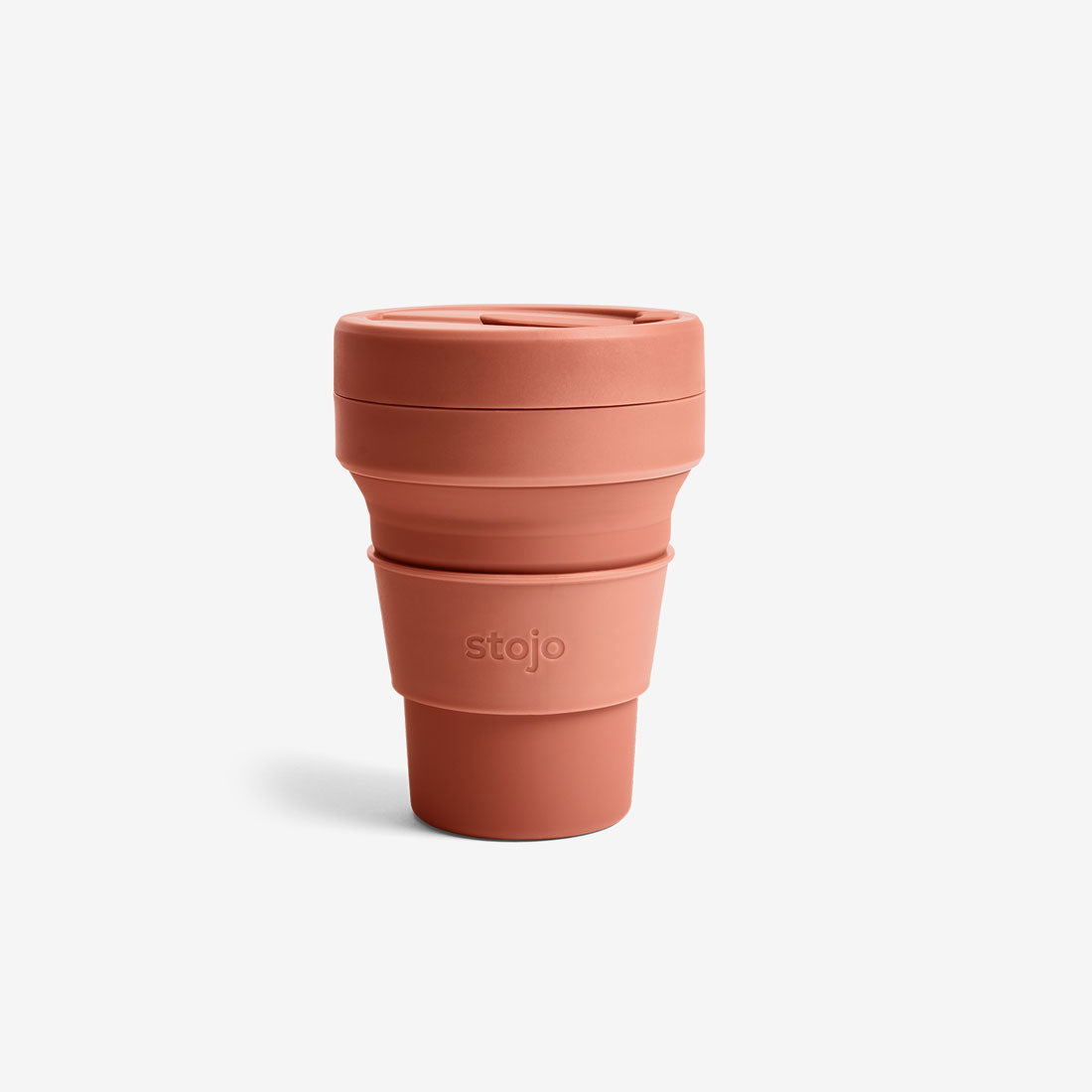 Silicone Collapsible 12oz Pocket Cup - Nutmeg