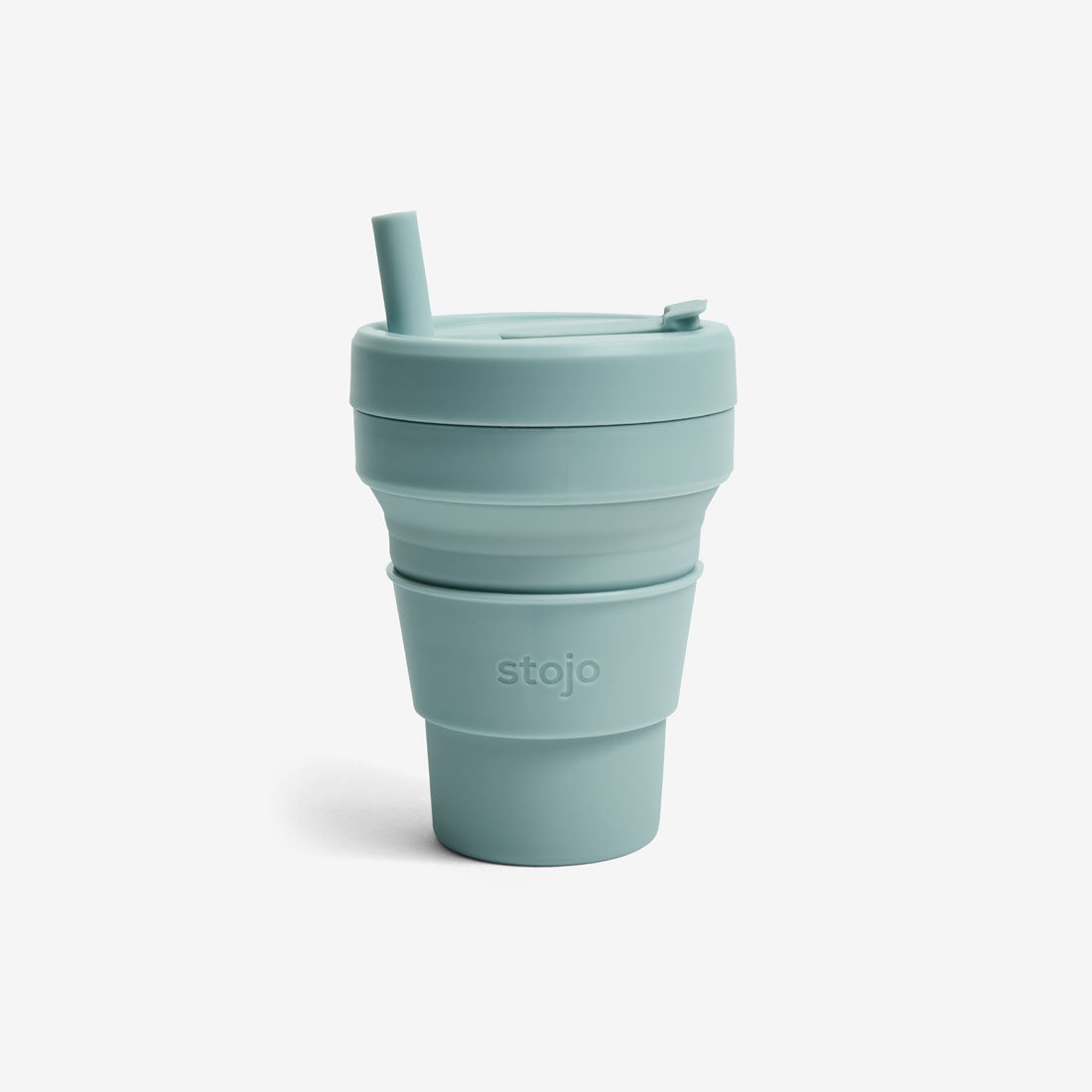 Silicone Collapsible 16oz Biggie Cup - Aquamarine