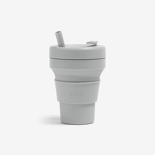 Silicone Collapsible 16oz Biggie Cup - Cashmere