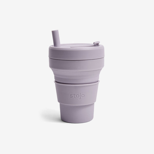 Silicone Collapsible 16oz Biggie Cup - Lilac