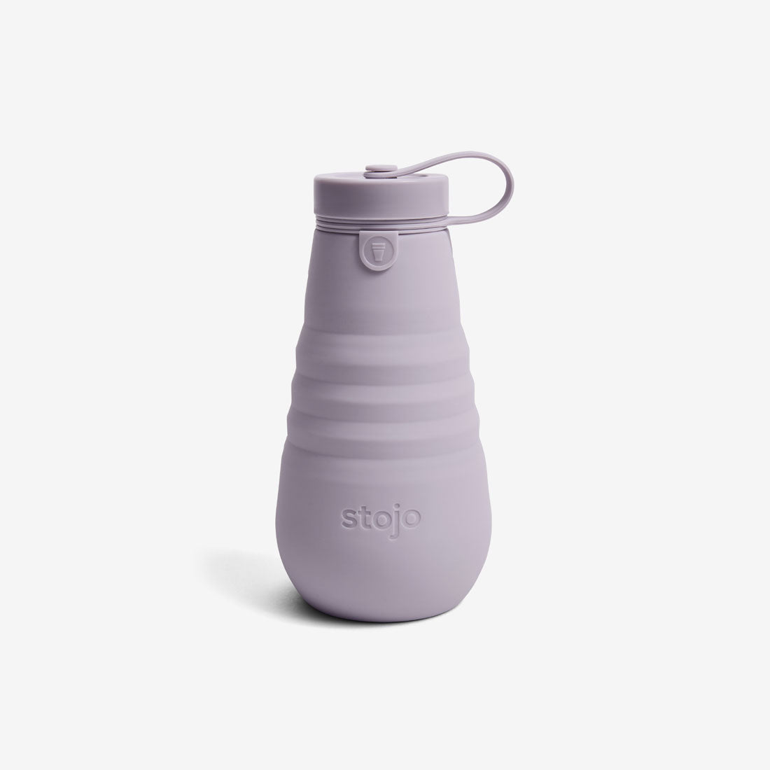 Silicone Collapsible 20oz Bottle - Lilac