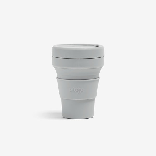 Silicone Collapsible 8oz Mini Cup - Cashmere