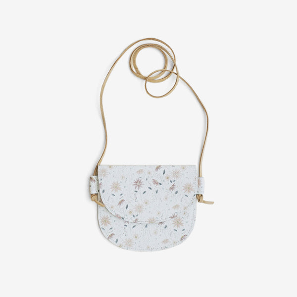 Little Leather Purse - Floral