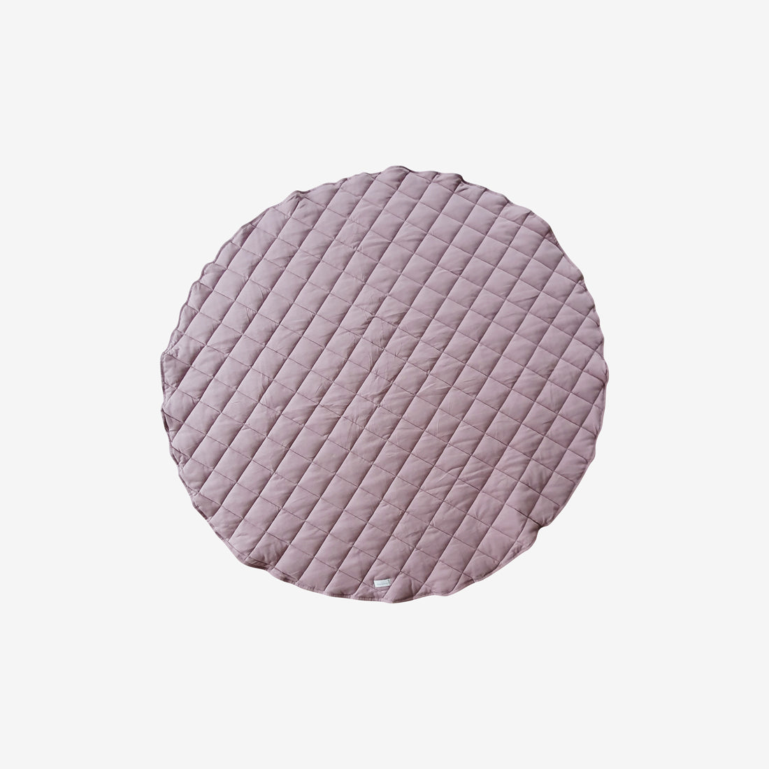 Organic Cotton Quilted Playmat - Mauve