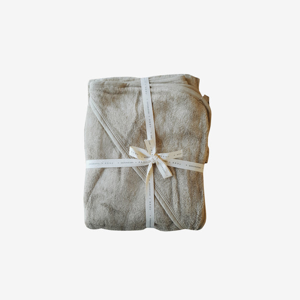 Bamboo Terry Hooded Towel - Elm