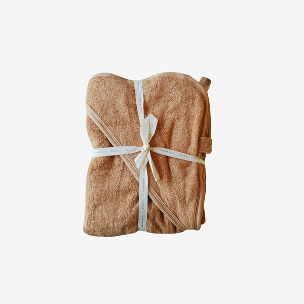 Bamboo Terry Hooded Towel - Sunkissed