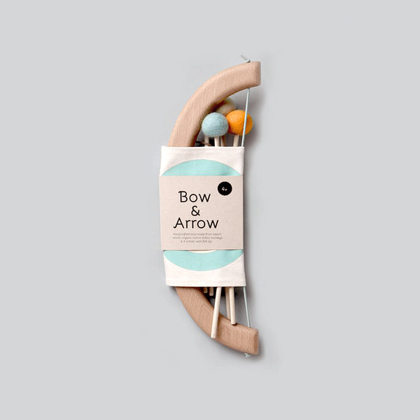 Bow & Arrow Set - Mint