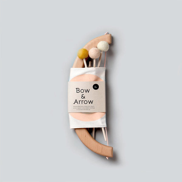Bow & Arrow Set - Peach