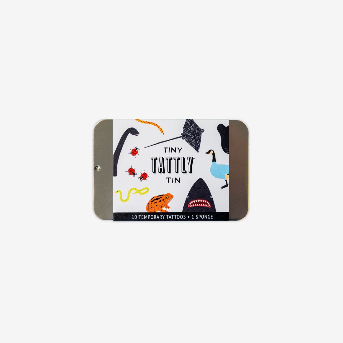 Temporary Tattoo Tin - Tiny Animals