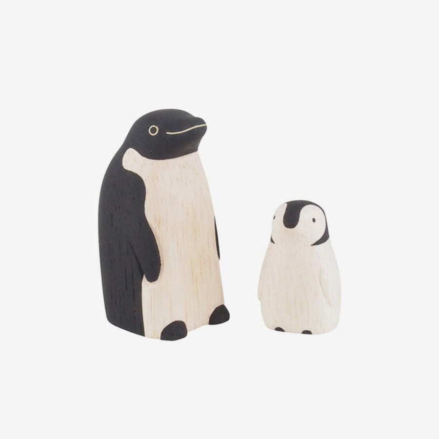 Polepole Wooden Animal Families - Penguins