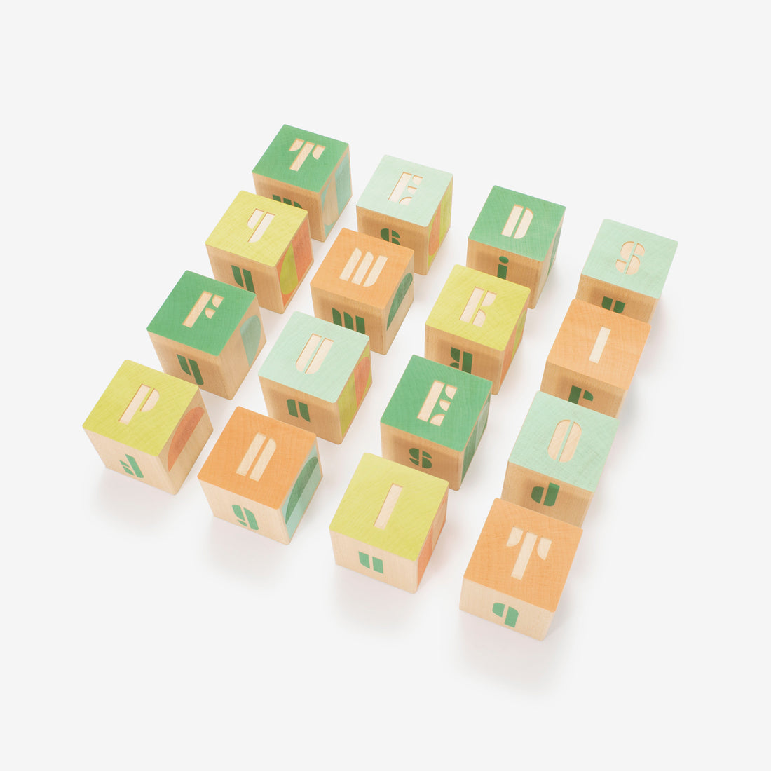 Mod Alphabet Block Set