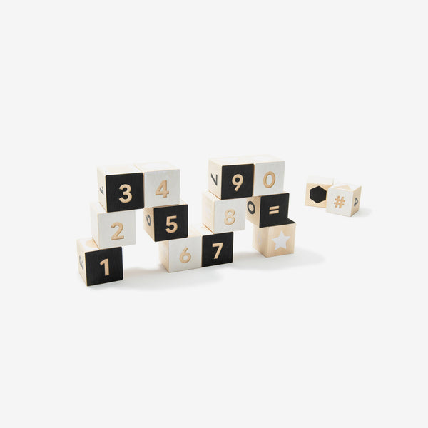 To Tonet Blocks Set - Numbers