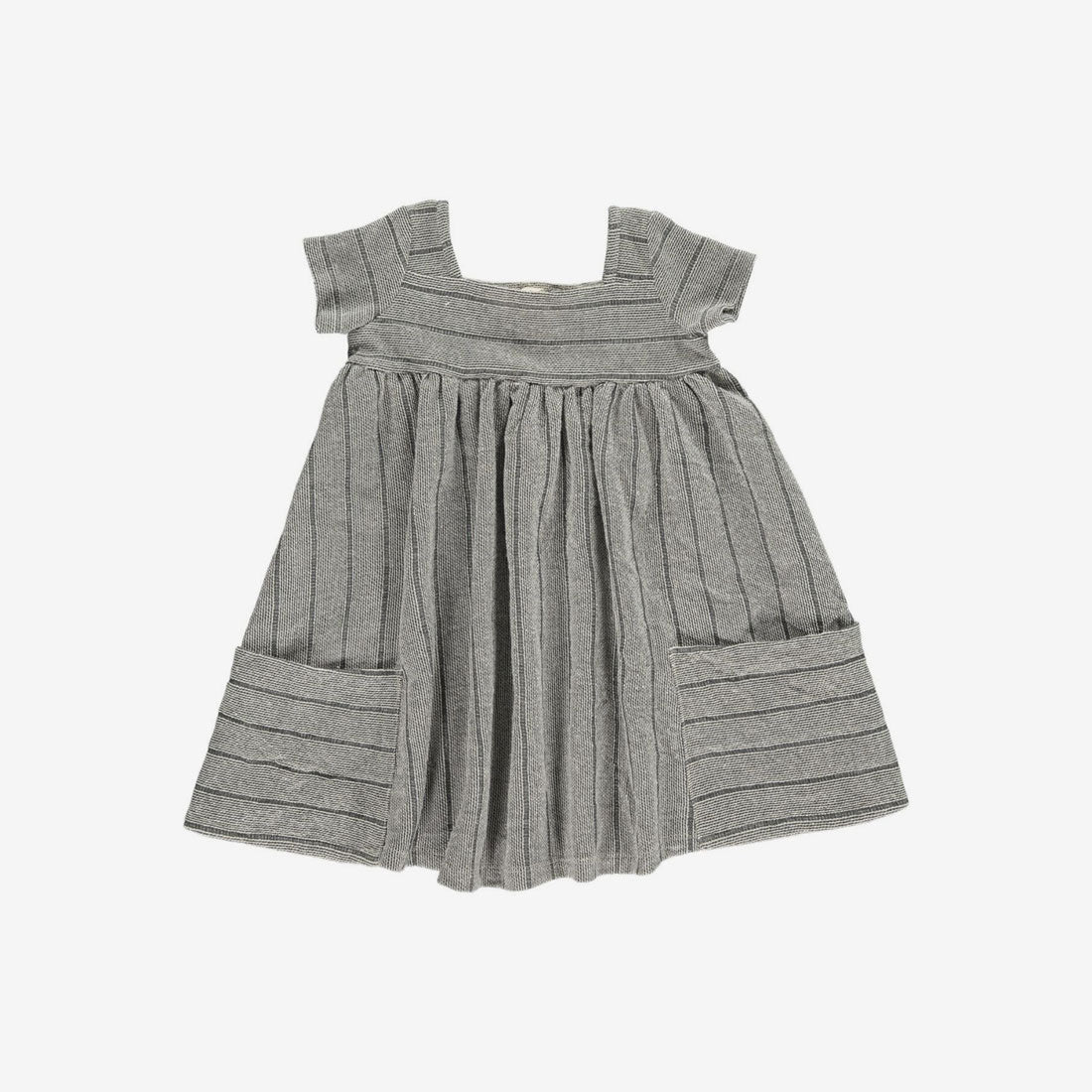 Rylie Knit Pocket Dress - Charcoal