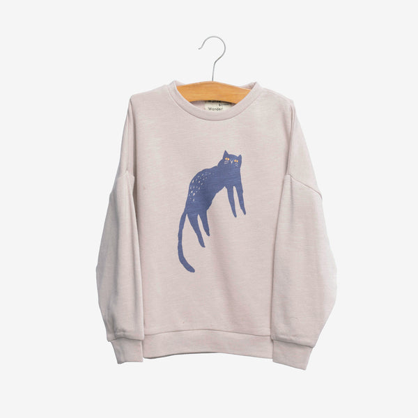 Wander Big Cat Sweatshirt
