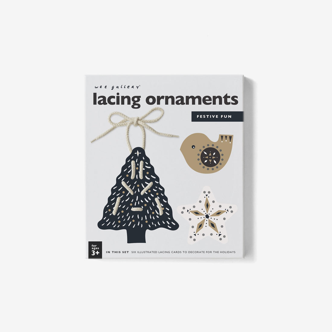 Festive Fun Lacing Ornaments Kit