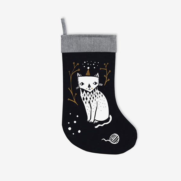 Christmas Stocking - Kitty Love