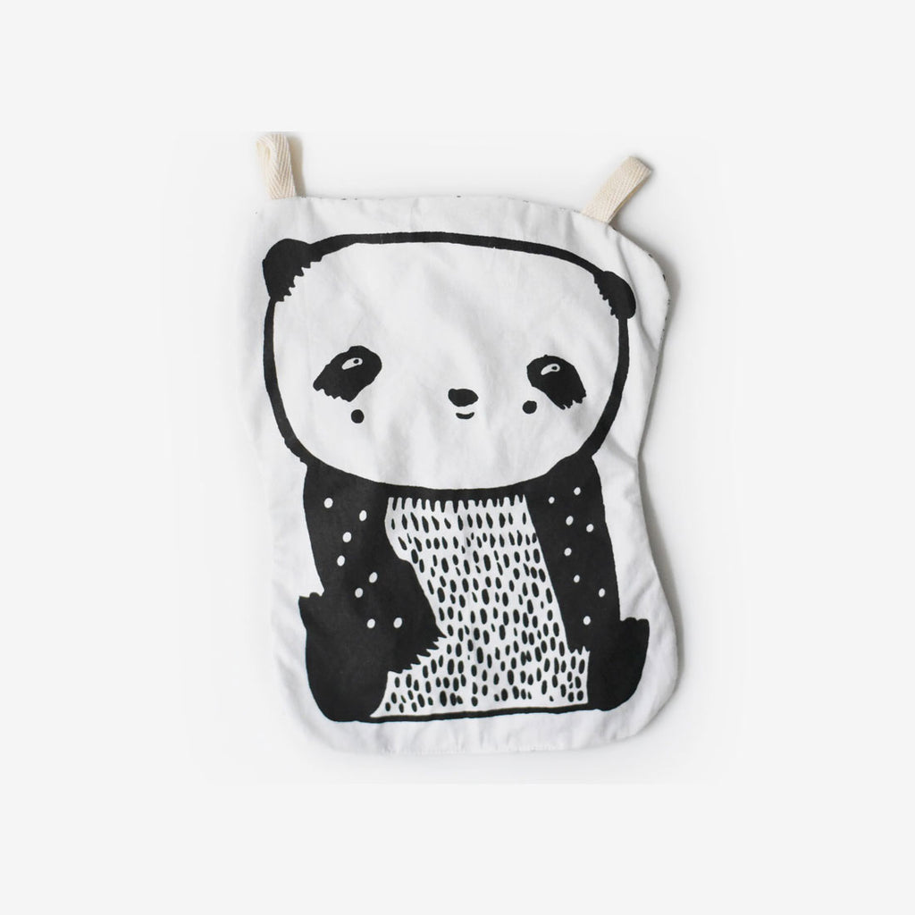 Organic Cotton Crinkle Toy - Panda