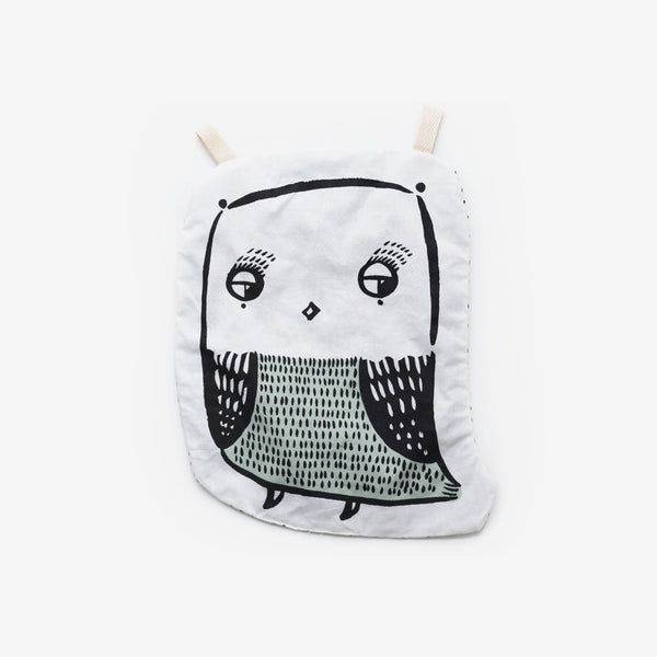 Organic Cotton Crinkle Toy - Owl