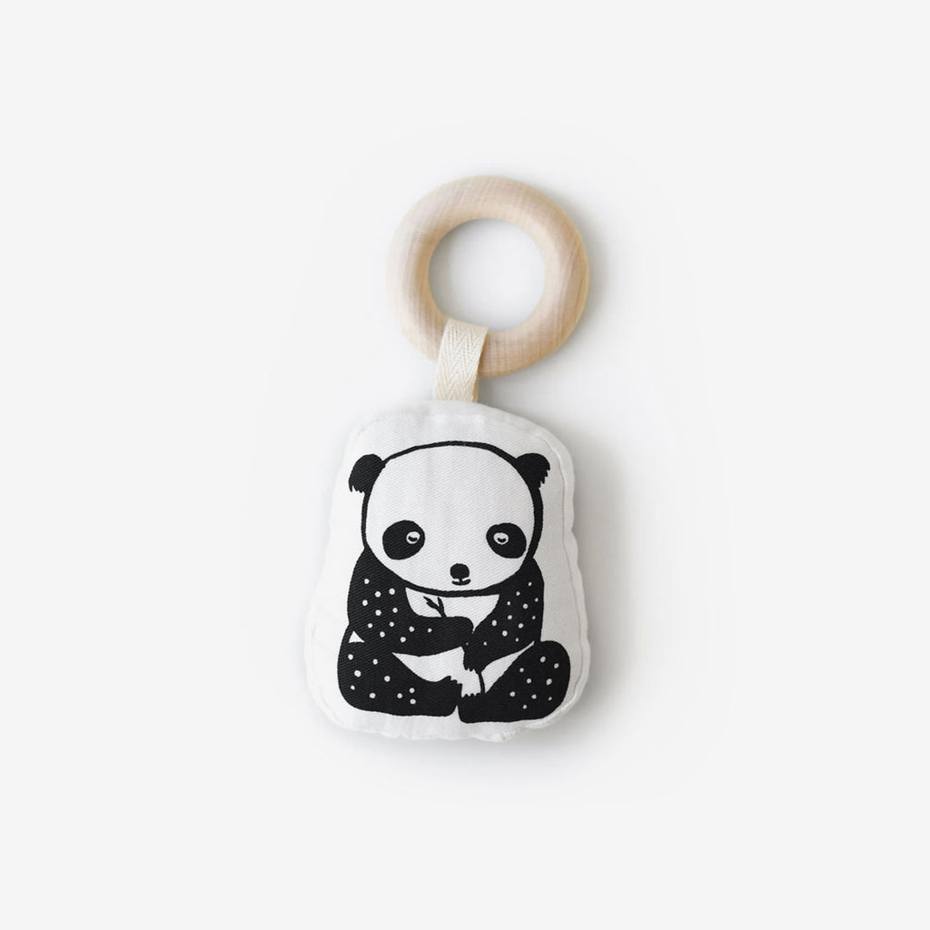Organic Teether Toy - Panda
