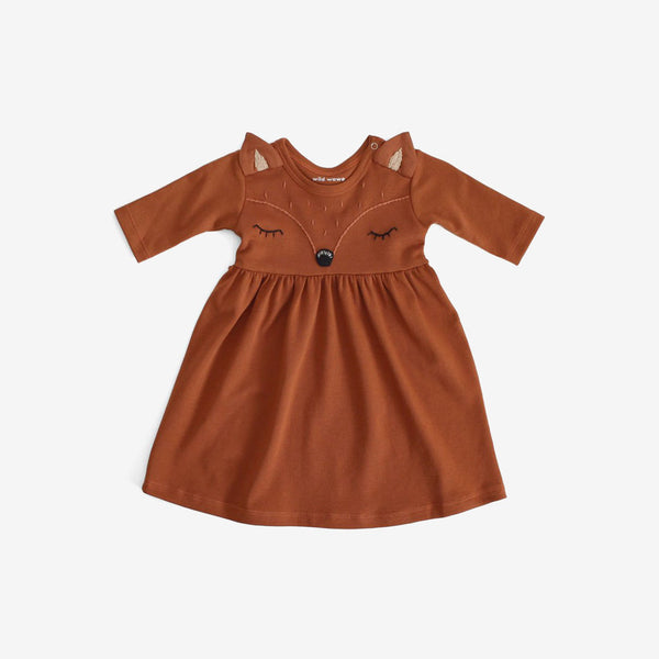 WaWa Organic Fox Dress