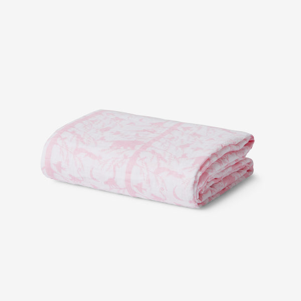 Muslin Wrap - Adventure Awaits Pink