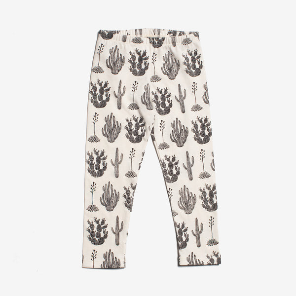 Cactus Organic Leggings - Black