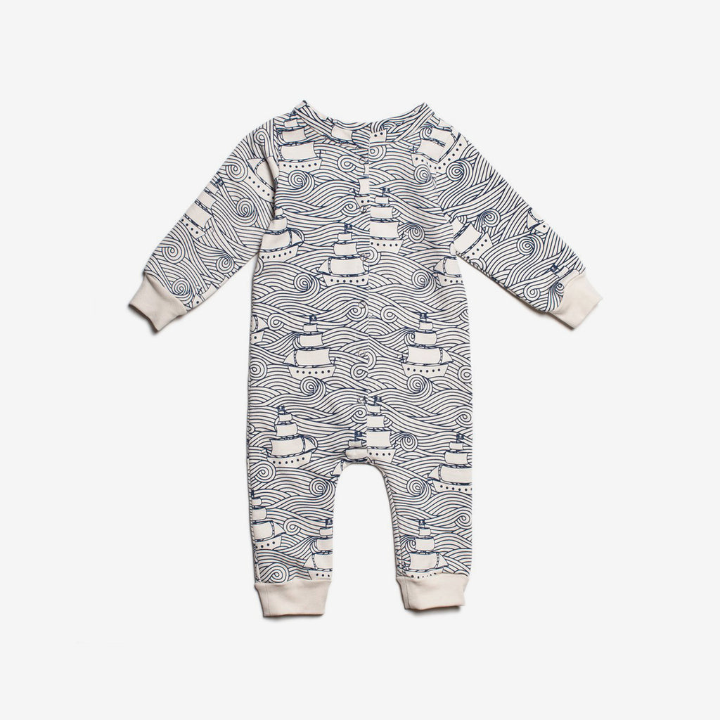 High Seas Organic French Terry Jumpsuit