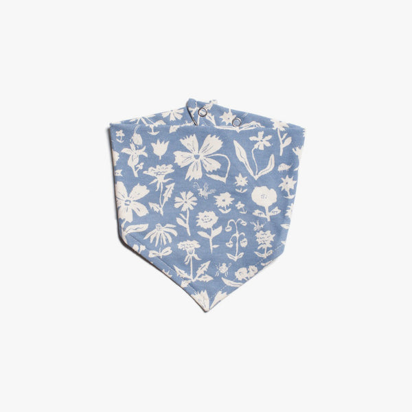 In-the-Garden Organic Kerchief Bib by Emily Isabella