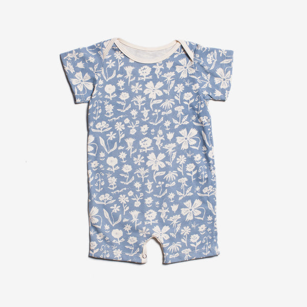 In-the-Garden Organic Summer Romper by Emily Isabella