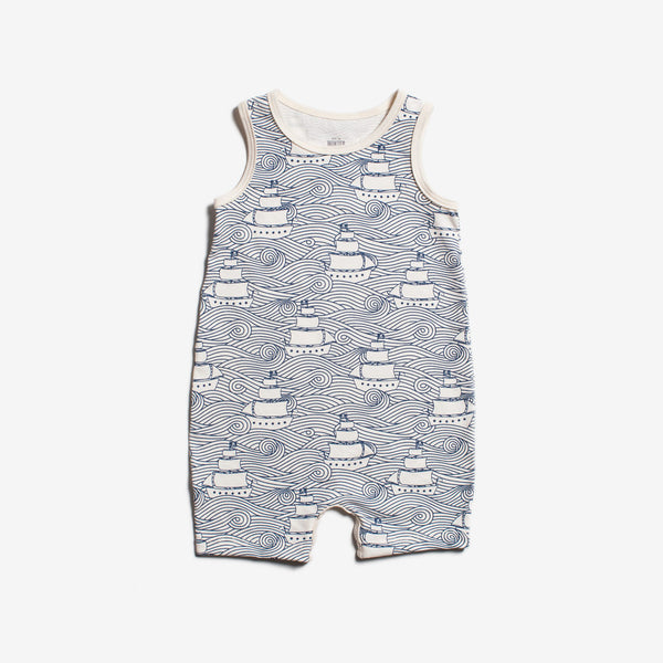 High Seas Tank Romper