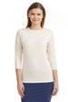 Esteez ¾ Sleeve Cotton Lycra RELAXED FIT Layering Shirt for WOMEN – BEIGE
