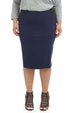 Esteez CHARLOTTE Skirt - Ponte Skirt for Women with Tummy Control - NAVY