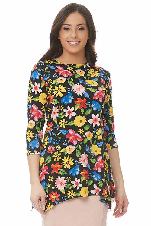 Esteez DAISY top - Womens 3/4 Sleeve Loose Fitting Shirt