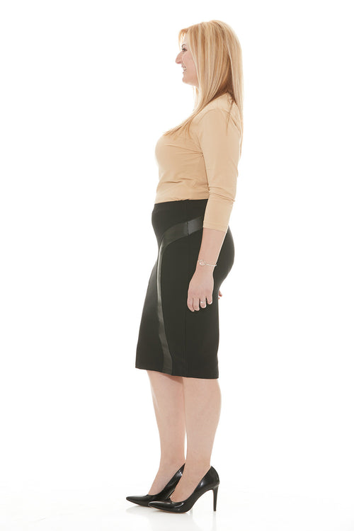 Esteez MADISON Skirt - Classic Ponte de Roma Below the Knee Pencil Skirt for WOMEN