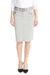 Esteez VIRGINIA Skirt - Stretch Poplin Cargo Knee Length Pencil Skirt for Women