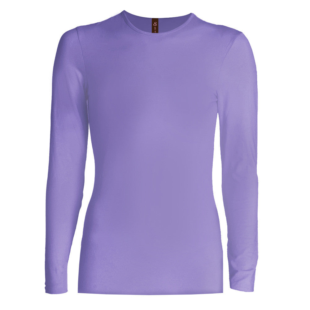 Esteez Long Sleeve 'SNUG FIT' Layering Shell / Top for GIRLS
