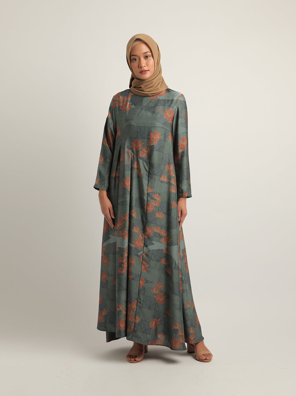 AKASHA DRESS SPRUCE
