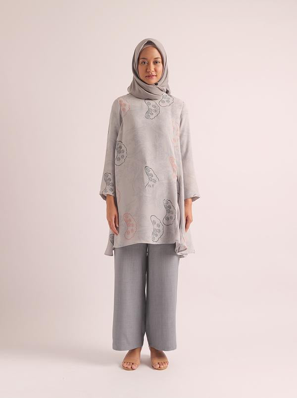 ANKA TUNIC POWDER BLUE