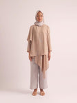 Darna Breastfeeding Top Rustic Beige