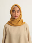 VOAL SCARF PLAIN HONEYCOMB