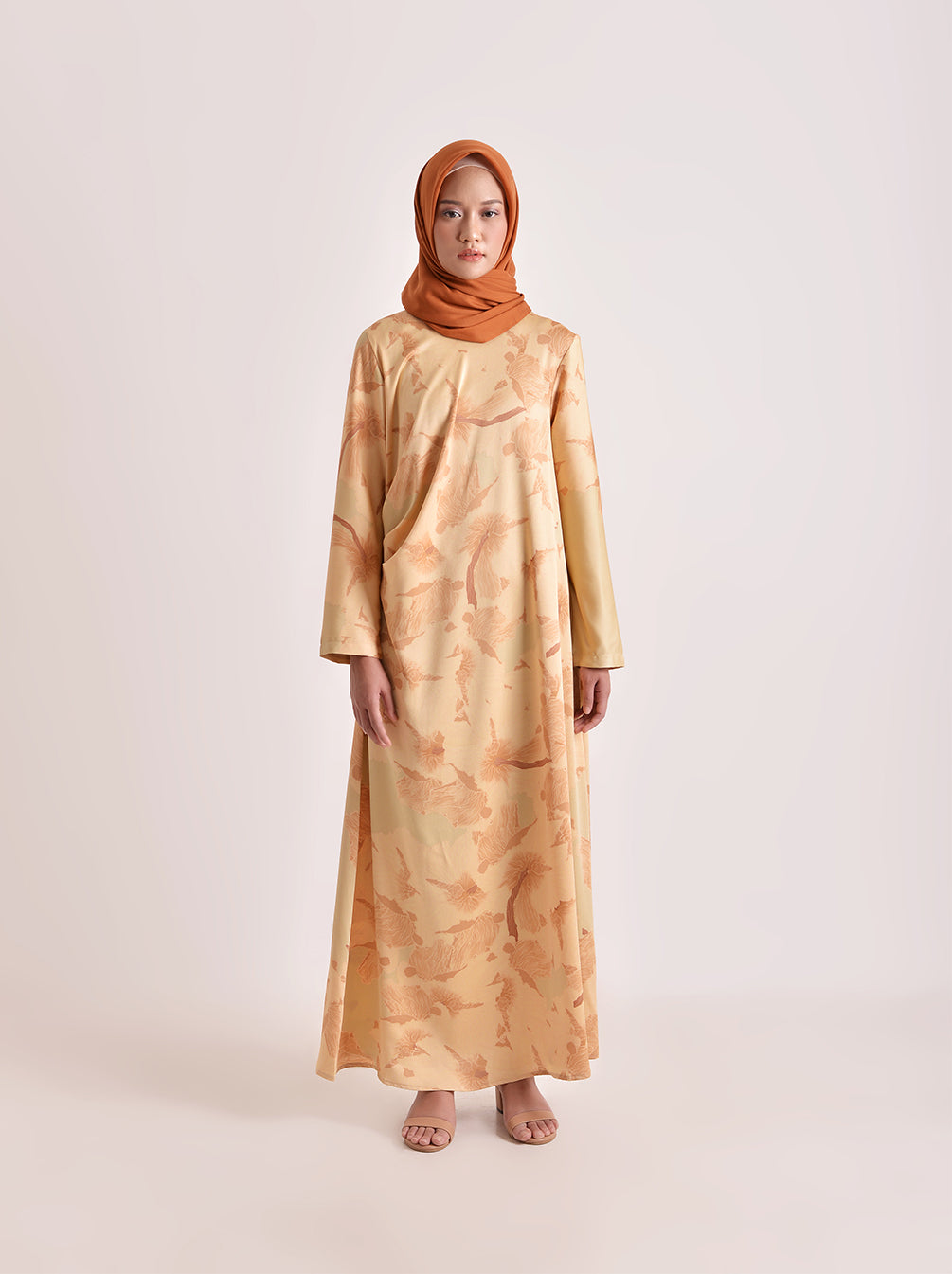 FIORA DRESS SANDSTONE